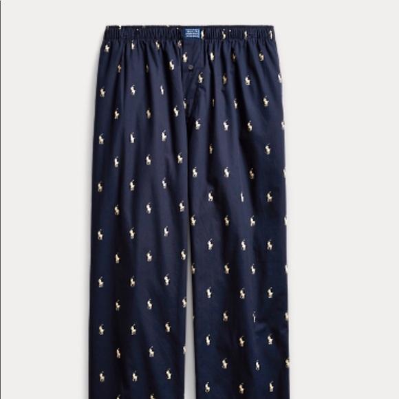 9ba7f8707bf0 Polo Ralph Lauren Allover Pony Pajama Pant. M 5b737d20f30369287cdad693